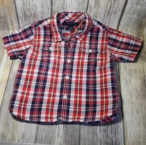 Tommy Hilfiger button front shirt